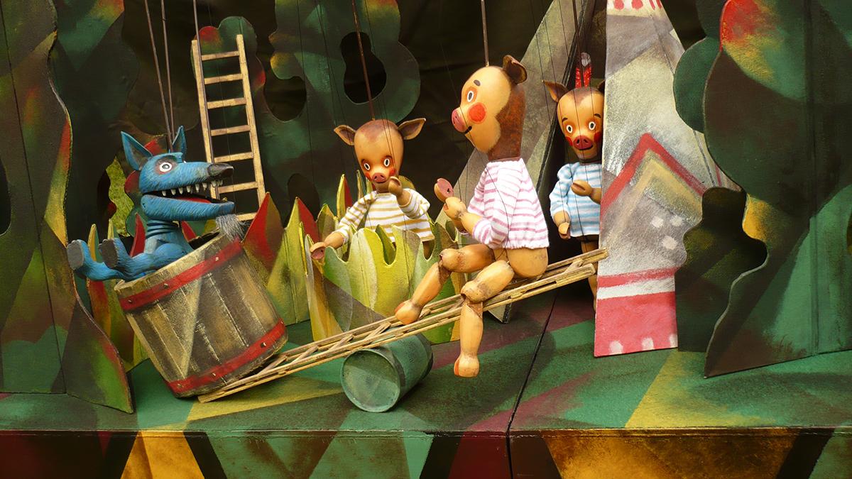 Ziránó Színház: A három kismalac
