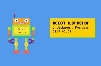 Bölcs Kavics: Robot workshop