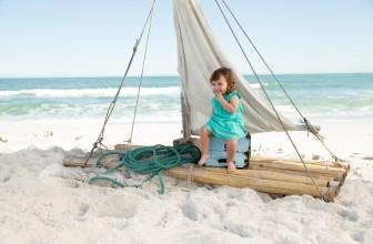 Ha süt a nap, UV-szűrős napszemüveget minden csecsemőnek és kisgyereknek!