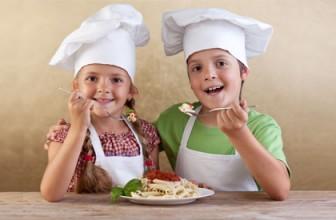 Minden gyerek szereti a tésztát.