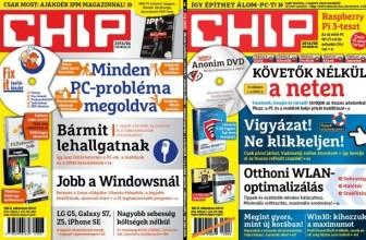 CHIP magazin – A számítástechnika iránytűje – Előfizetés most 39% kedvezménnyel!