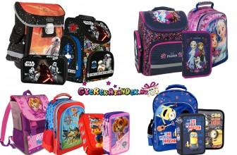 Iskolatáskák, iskolai felszerelések 10% kedvezménnyel!
