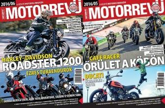 Motorrevü – A vezető motoros magazin – Előfizetés most 40% kedvezménnyel!