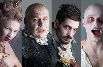 Maskarák bemutató a Budaörsi Latinovits Színházban
